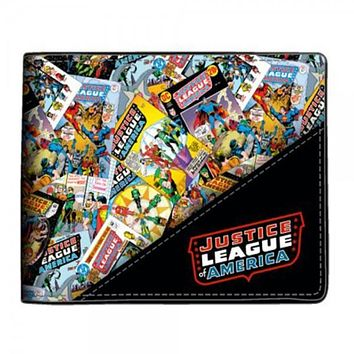 Justice League All Over Print Wallet- Free Shipping