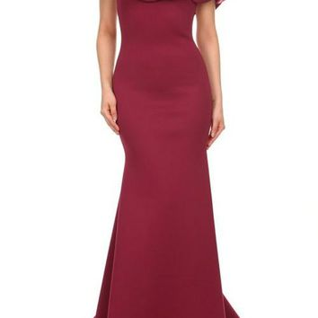 Maxi Dress With Ruffled Detailing