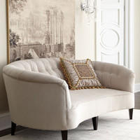 "Old Hickory Tannery - ""Anastacia Pearl"" Sofa - Horchow"