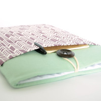 iPad Mini Case, iPad Mini Sleeve, iPad Mini Cover Padded - Feathers