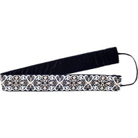 Black Brown Scroll No-Slip Headband