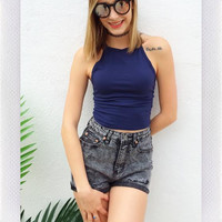 Such a flirt Cami- Navy