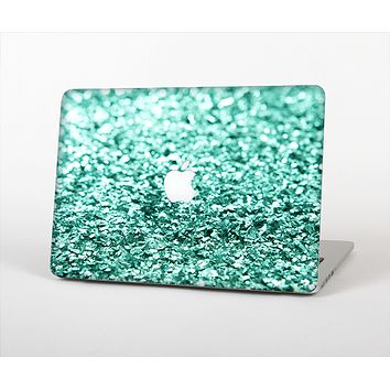 The Aqua Green Glimmer Skin Set for the Apple MacBook Air 11""