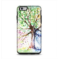 The WaterColor Vivid Tree Apple iPhone 6 Plus Otterbox Symmetry Case Skin Set