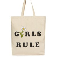 FTBC Girls Rule Shopper Bag - Fashion Targets Breast Cancer - Clothing