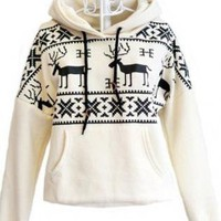 Fashion Deer Hoodies