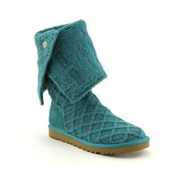 Womens UGG® Lattice Boot, Aqua  Journeys Shoes
