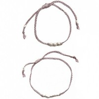 Alem: Grey Bracelet Set.