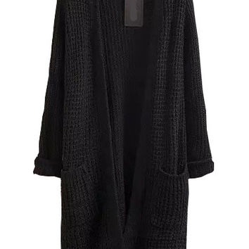 Best Long Sleeve Knit Cardigan Products on Wanelo