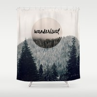 Wanderlust Shower Curtain by RDelean
