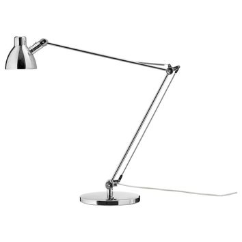 ANTIFONI Work lamp - nickel plated - IKEA