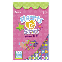 ConsumerCrafts Product Kids Sticker Book: Heart Stickers & Star Stickers