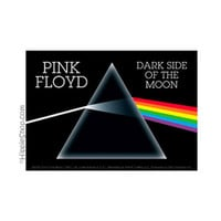 Pink Floyd - Dark Side Bumper Sticker on Sale for $2.99 at HippieShop.com