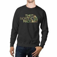 The North Face Camoflouge Unisex Sweaters - 54R Sweater