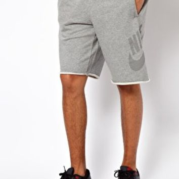 Nike Sweat Shorts With Retro Logo at asos.com