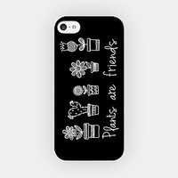 for iPhone 6/6S Plus - High Quality TPU Plastic Case - Plants Are Friends - Vegetarian - Tree - Cactus - Nature - Environment