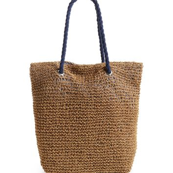 Cesca Rope & Straw Tote | Nordstrom