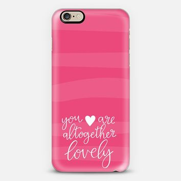 Altogether Lovely iPhone 6 case by Liss @ The Grace Place | Casetify