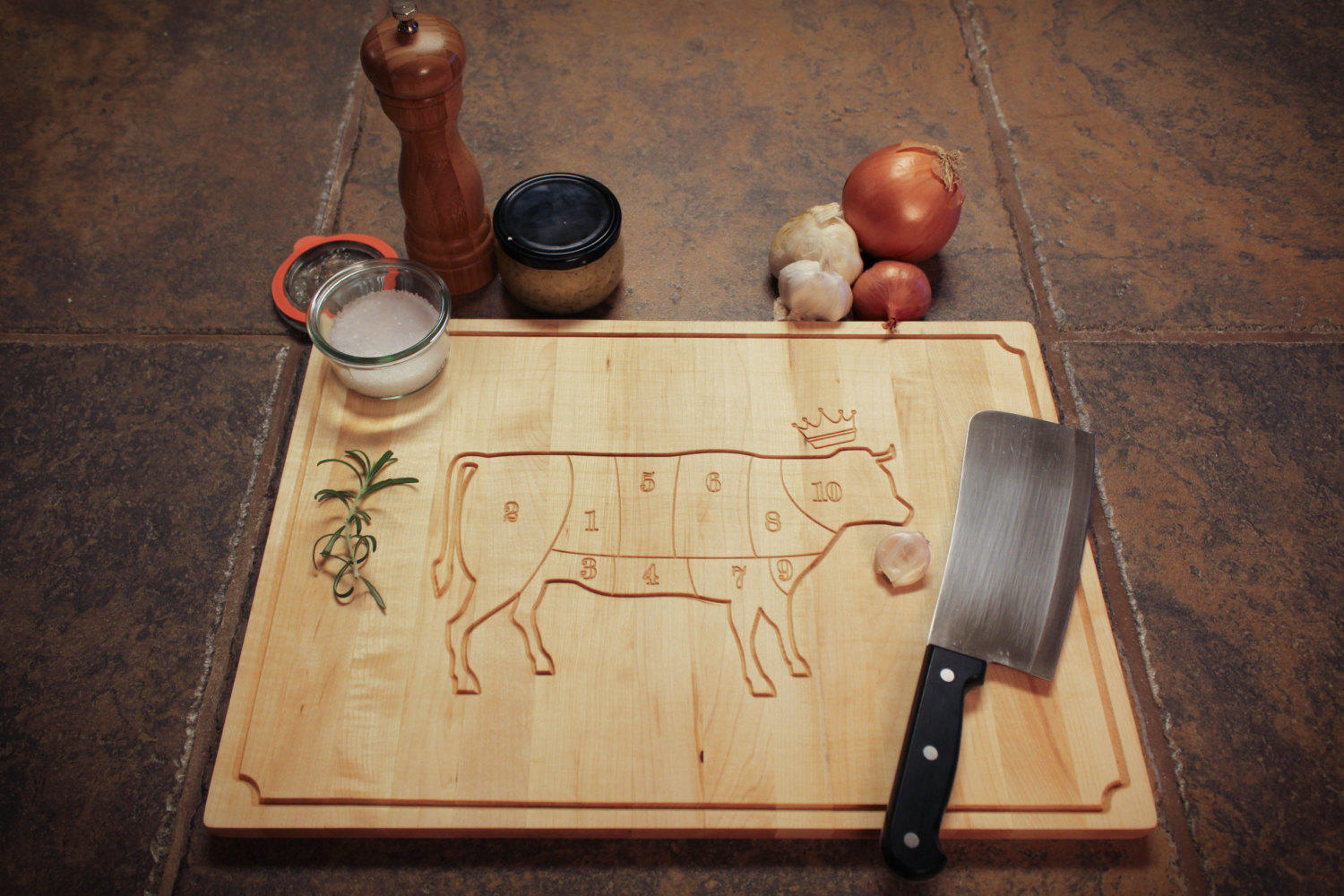 vintage cow butcher diagram cutting board from kcdcwoodshop on wood cutting diagram argo wood boiler wiring diagram