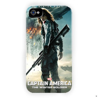 Captain America The Winter Soldier For iPhone 4 / 4S Case