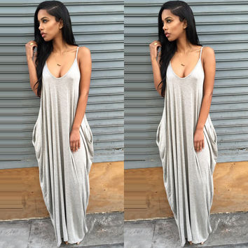 Deep V Saida De Praia Pareo Strap Beach Dress Pocket Swimsuit Cover Up Tunics Fall Loose Bikini Plavky Coverups Banho YHD03