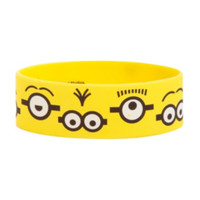 Despicable Me 2 Minion Eyes Rubber Bracelet
