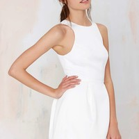 Keepsake Counter Attack Pleated Dress