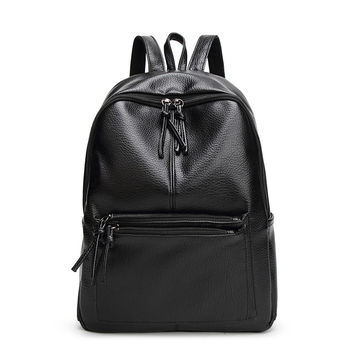 Backpack Women High Quality Backpacks for Teenage Girls 2016 Fashion Leather Backpack for Travel Mochilas Mujer Women Backpack