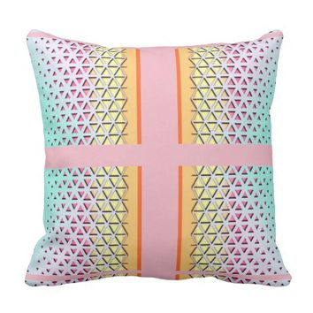 Pastels For Summer Outdoor Pillow