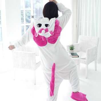 Adult Unicorn Pajamas Flannel Unicorn Onesuit Fantasias Cosplay Halloween Costumes Women