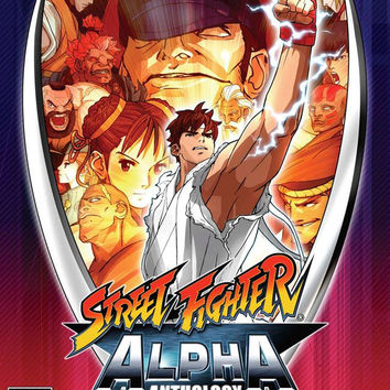 Street Fighter Alpha Anthology  (Sony PlayStation 2, 2006)
