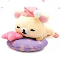 San-X Rilakkuma Sleep Over 7.5 Plush: Little Bear