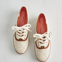 Go Off the Trails Sneaker | Mod Retro Vintage Flats | ModCloth.com