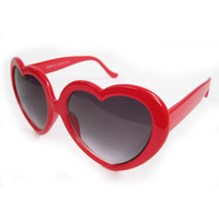 Red Sweetheart Sunglasses