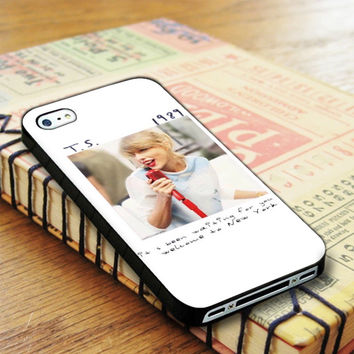 Taylor Swift 1989 Cover Album Taylor Swift Singer iPhone 4 | iPhone 4S Case