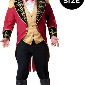 ringmaster adult plus costume - 3xl