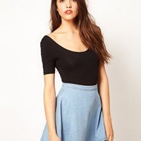 American Apparel Short Sleeved Body at asos.com