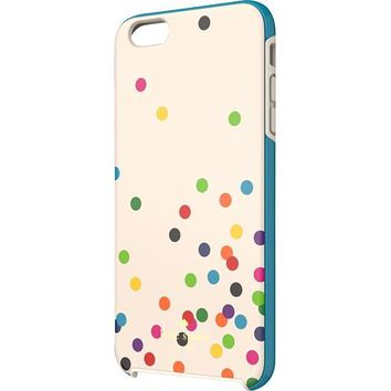 kate spade new york - Confetti Dot Hybrid Hard Shell Case for Apple® iPhone® 6 Plus - Cream/Black/Green/Blue/Pink/Yellow