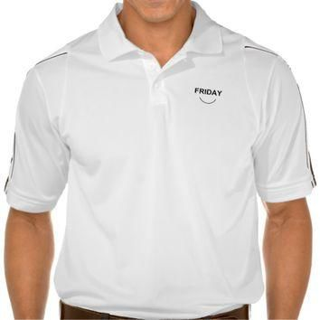 Days of the week - Friday Polo Shirts