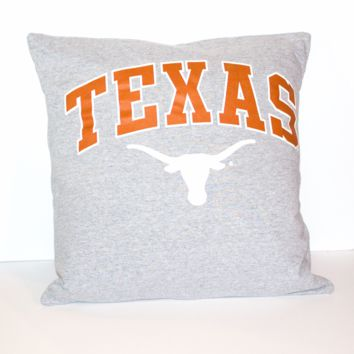 Texas Longhorns Pillow