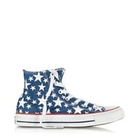 Converse Limited Edition Designer Shoes Chuck Taylor All Star Hi-Ox Midnight Hour/White Stars Canvas Sneaker