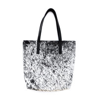 I liked this design on #Fab. Salt & Pepper Hide Tote