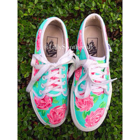 Lilly Pulitzer Inspired First Impression Shoes