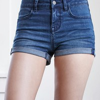 Bullhead Denim Co. Ann Wash Mid Rise Super Stretch Denim Shorts at PacSun.com