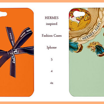 Iphone 5/4/4s Case-Hermes Iphone 5 Case- Hermes Logo-Iphone 5 case,Iphone 5 cover,Iphone 5 4 4s skin,Iphone 4/4s case, Iphone 4 / 4s cover