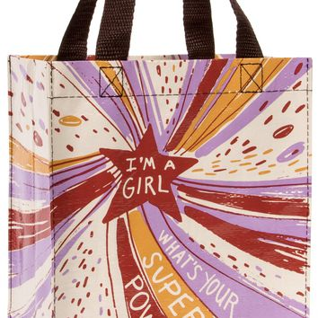 I'm a Girl What's Your Superpower? Handy Tote