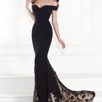 Off the Shoulder Sweetheart Gown by Tarik Ediz