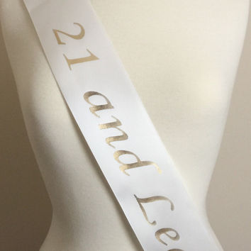 Birthday Sash, Birthday Party Sash, Birthday Sash, Birthday Party, Birthday Gift, Birthday Girl Gift, Fun Party Sash, 21st Birthday