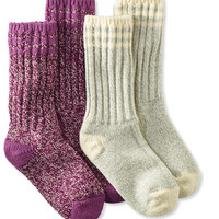 "Merino Wool Ragg Sock, 10"" Stripe 2-Pack"