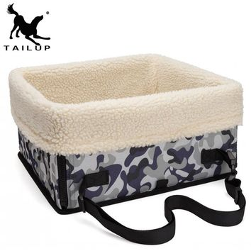 [TAILUP]Foldable Dog Bag Car Seat For Dog Carriers Cat Carrier Puppy Pets Christmas Dogs Cat Dog Bag Safety Car Supplies py0019